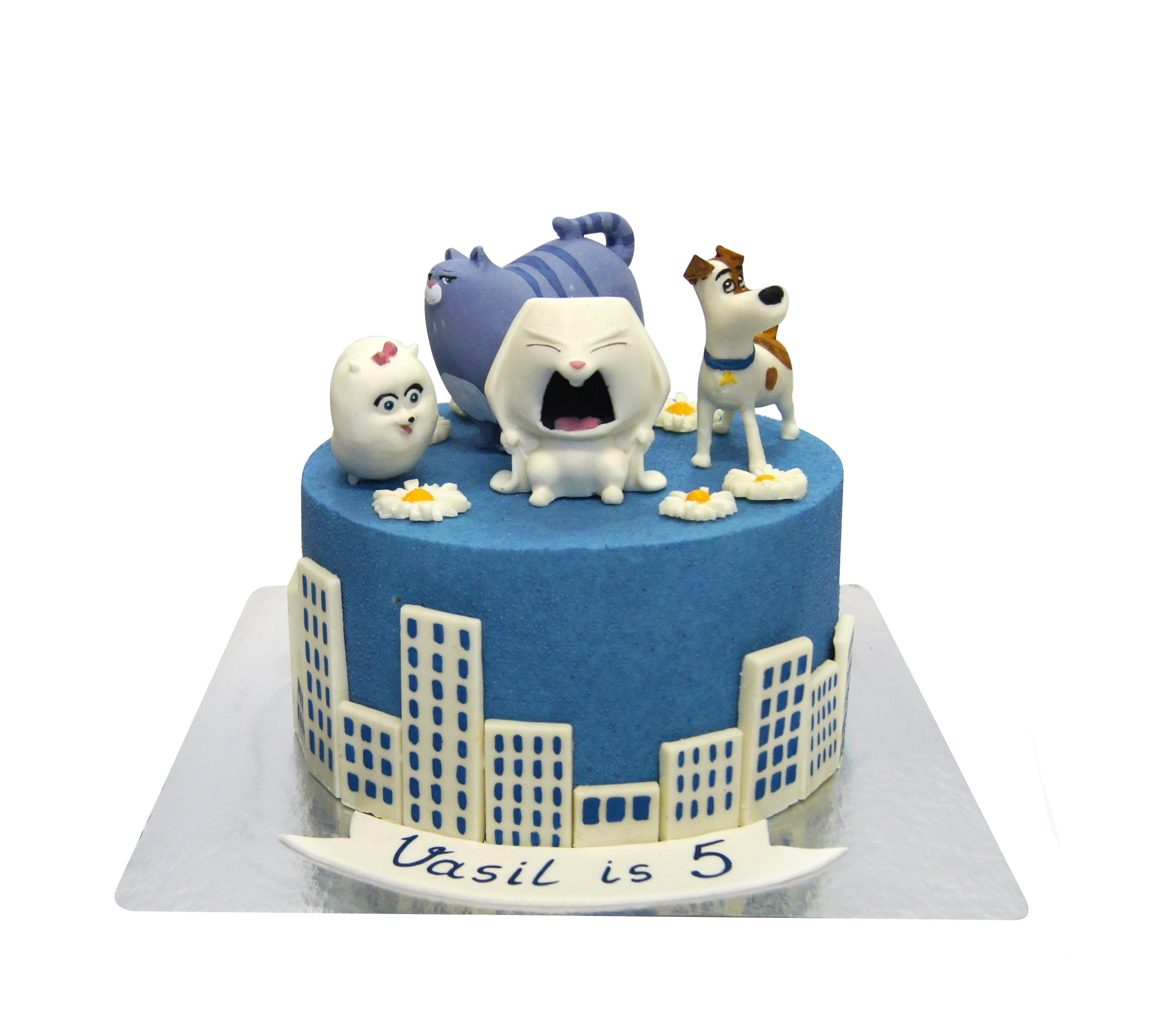 торт тайная жизнь домашних животных фото