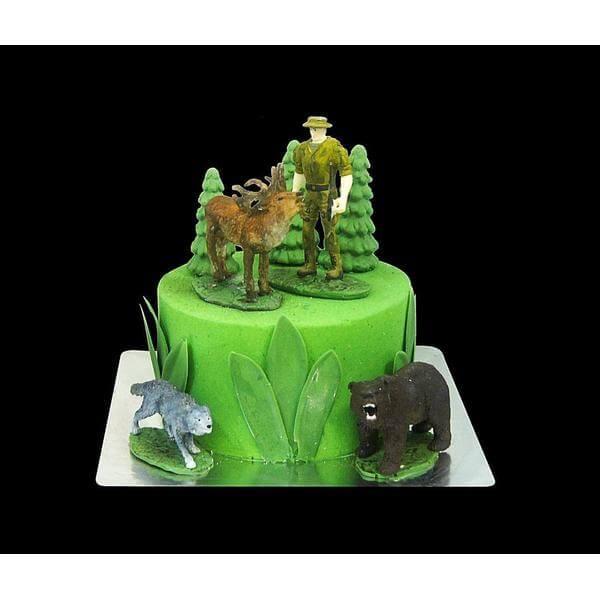 Торт Охотник 1 ярус