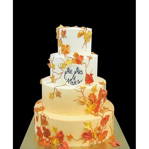 Торт Осенние листья