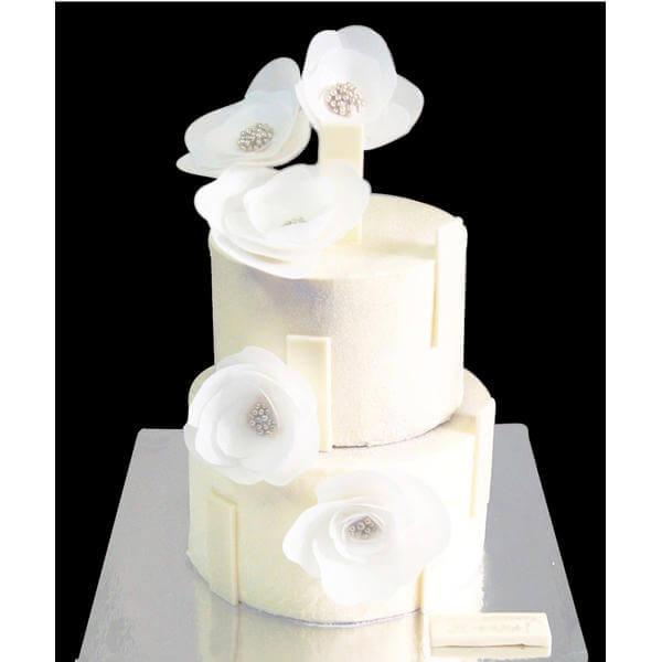 Торт Белые цветы