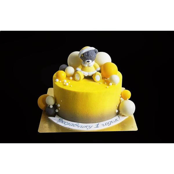 Торт Тедди и шарики