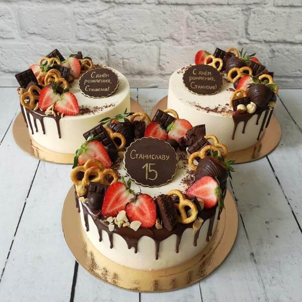 Торт Европейский с ягодами/фруктами*