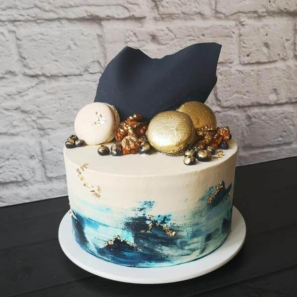 Торт Морской бриз + трайфлы