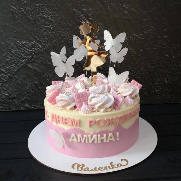 Торт для девочки 3