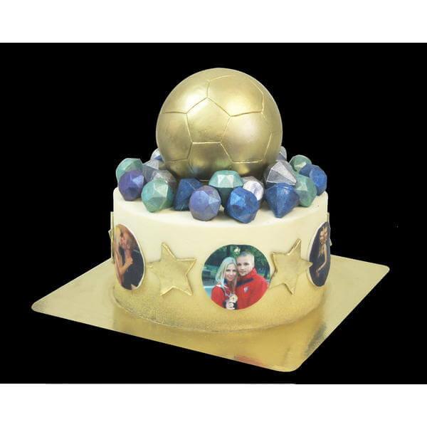Торт Золотой мяч