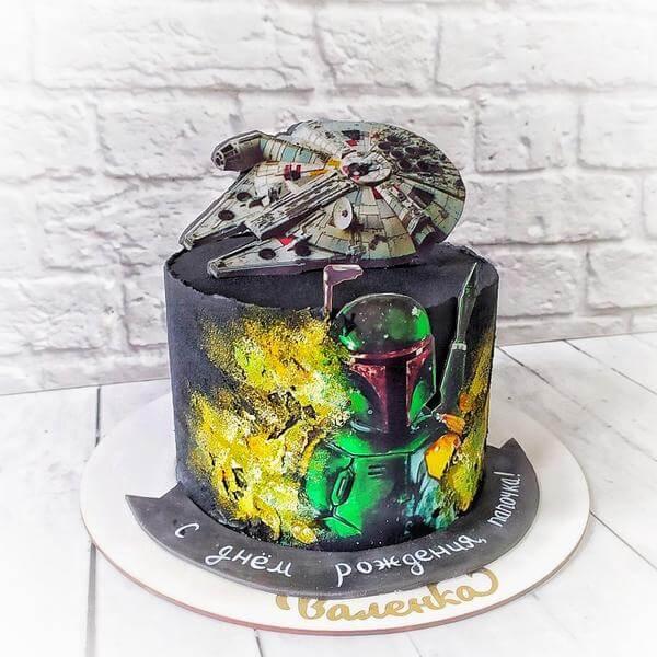 Торт Звездные воины 2