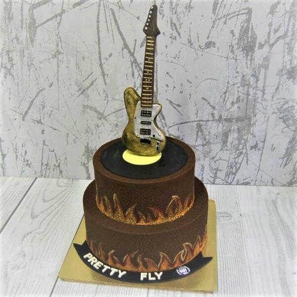 Торт музыкантам