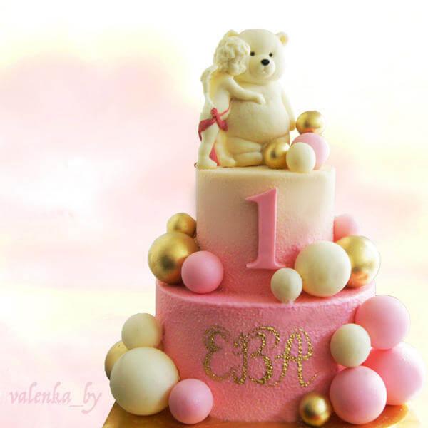 Торт Нежные мишки