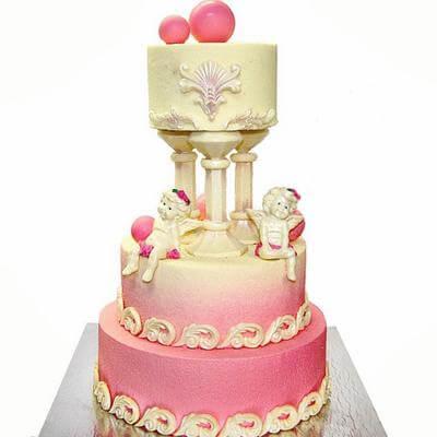 Свадебный торт Ангелы