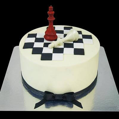 Торт Шахматы