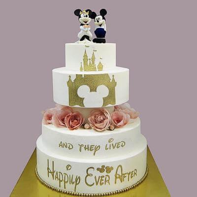 Свадебный торт Дисней