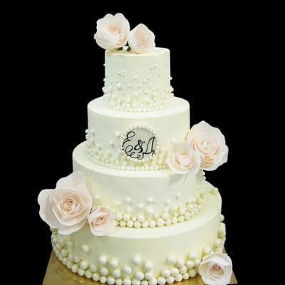 Торт Жемчуг И Цветы