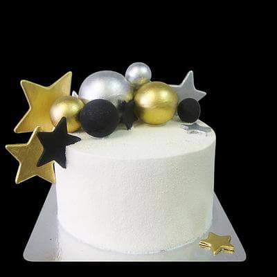Торт Золотые Звезды