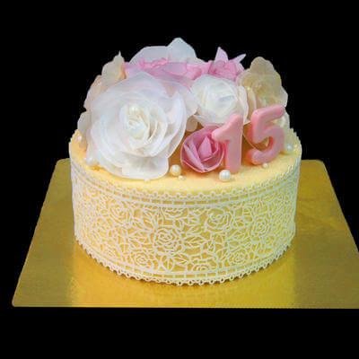 Торт для прекрасной леди