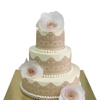 Торт Кружево