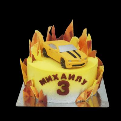 Торт Пламя