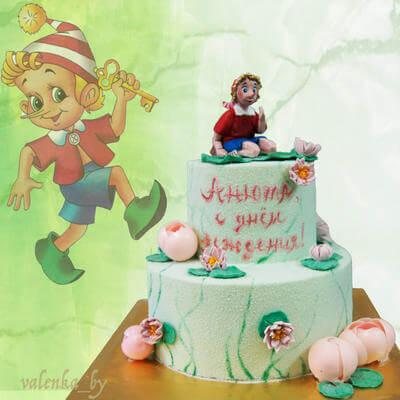 Торт Буратино