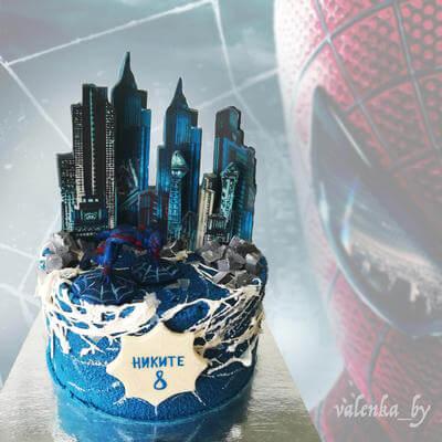 Торт Человек-Паук 2099