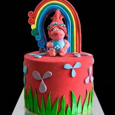 Торт Поппи Тролли